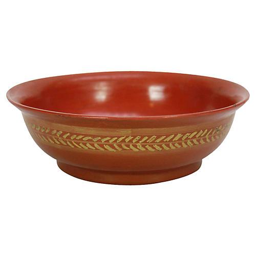 Golden Vine Tibetan Bowl