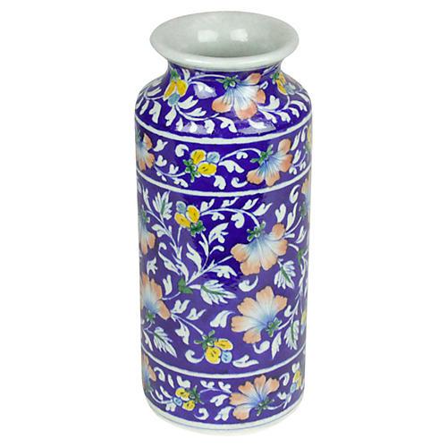 Royal Blue Jaipur Vase