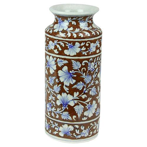 Brown Jaipur Vase