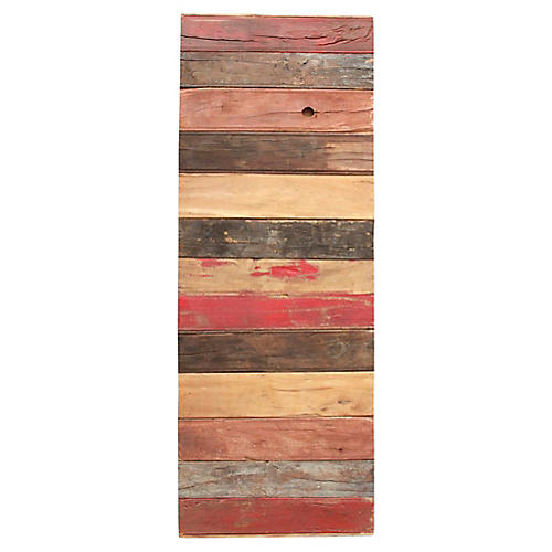 Multicolor Reclaimed Stripe Door