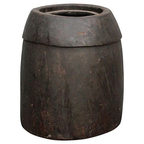 Tribal Naga Oil Pot