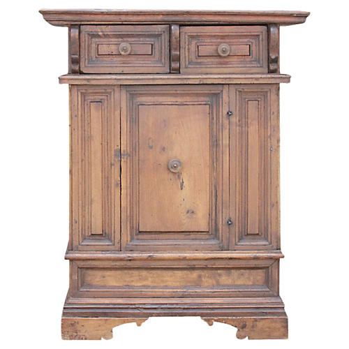 18th Century Italian Walnut Cabinet
