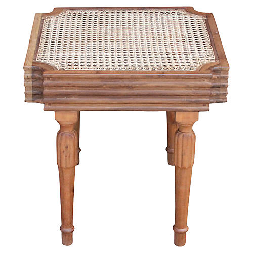 West Indies British Colonial Side Table