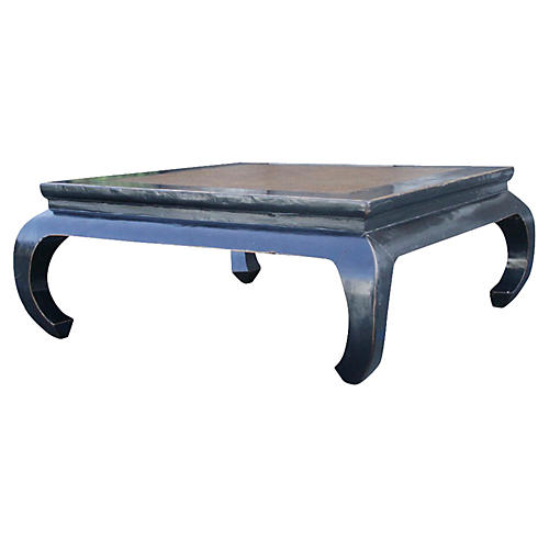 Black Lacquered Opium Coffee Table