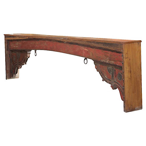 Imposing Red Beam Console