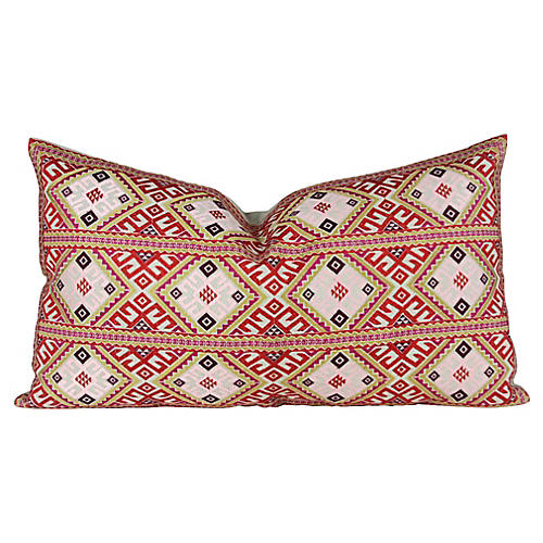 Swati Tribal Multicolor Pillow