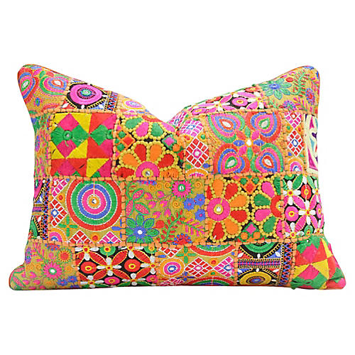 Festive Multicolor Swati Pillow