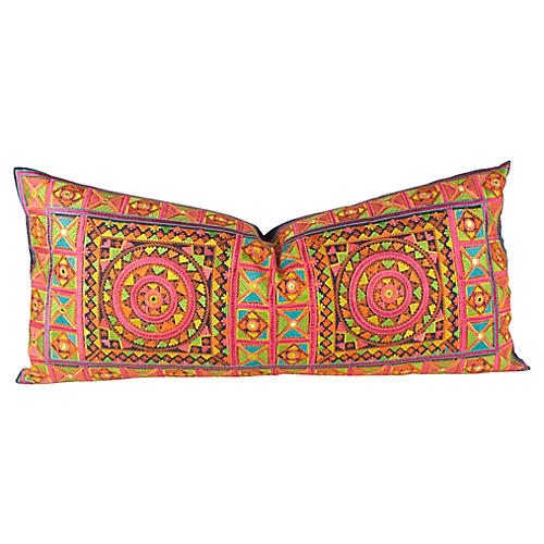 Neon Mandala Swati Pillow