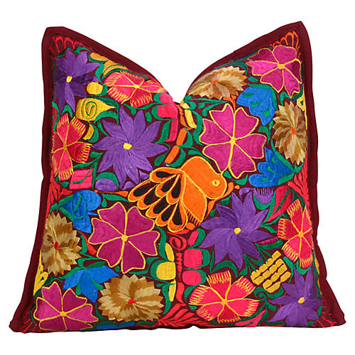 Carnation Primavera Pillow