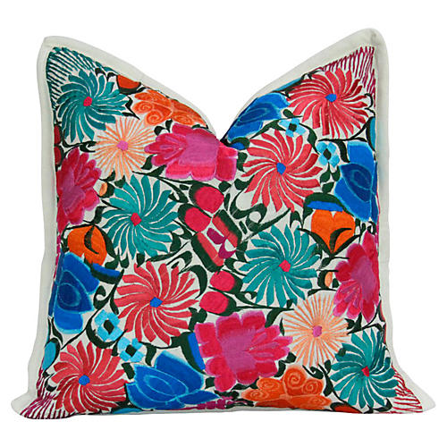 Blossoming Primavera Pillow