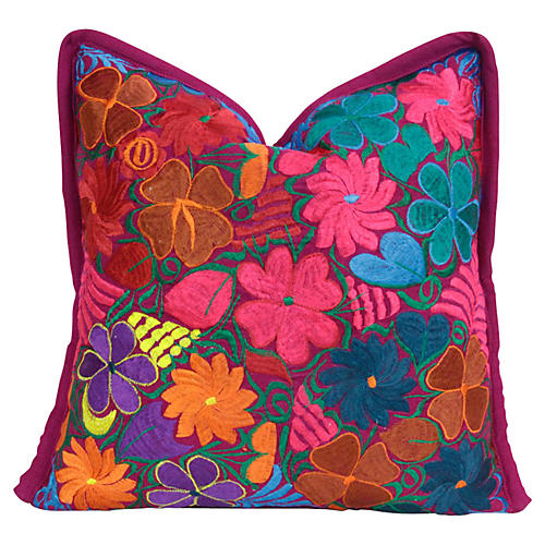 Geranium Primavera Pillow
