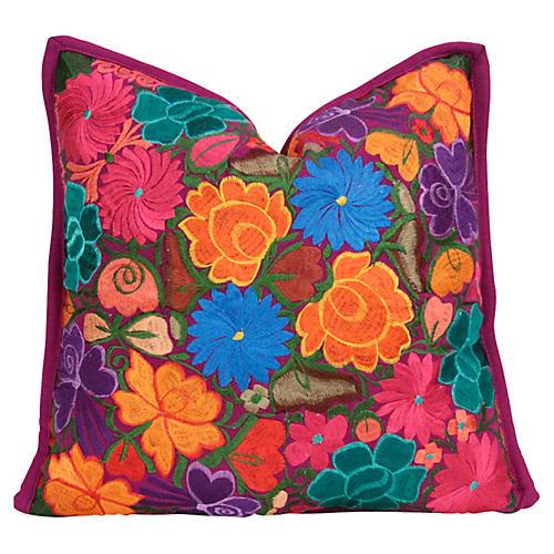 Colorful Gazania Primavera Pillow