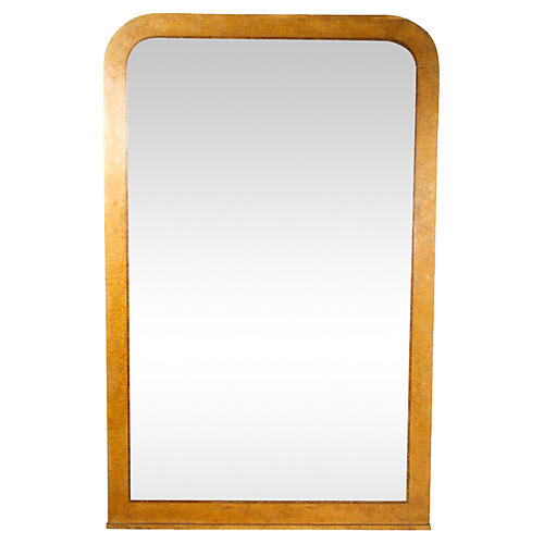 Large French Louis Philippe Style Mirror