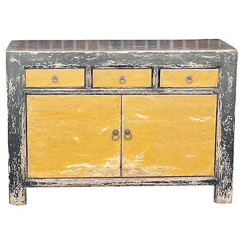 Chinese Lacquered Sideboard