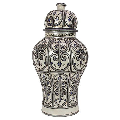 Adilah Moroccan Ginger Jar