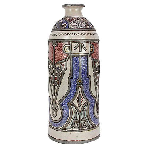Saeeda Tall Moroccan Jar