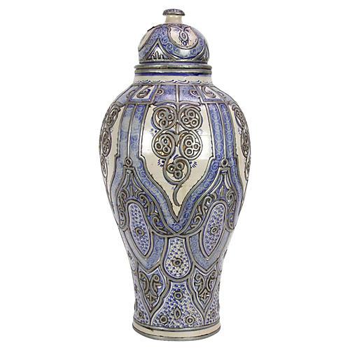 Zohra Moroccan Jar w/ Lid