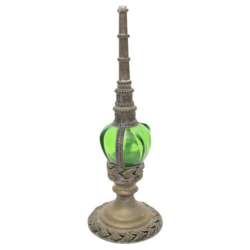 Moroccan Green Bottle