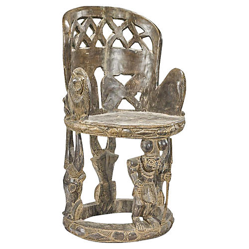 Yoruba Carved Chair