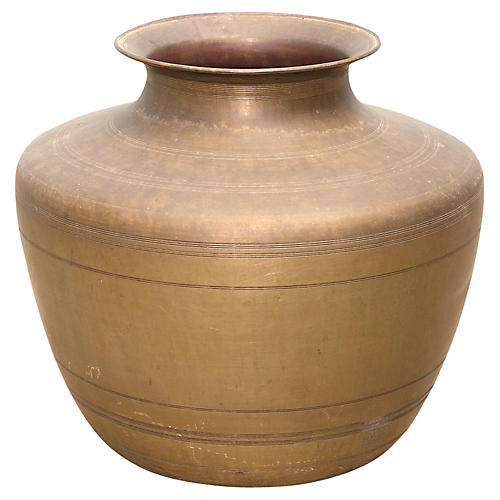 Amphora Brass Vessel