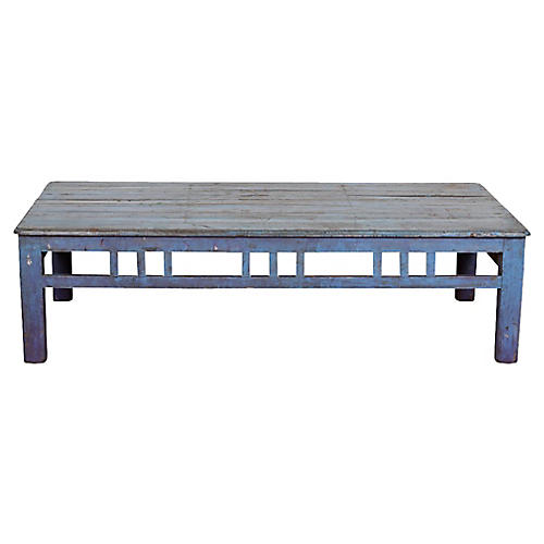 Colonial Jodhpur Blue Coffee Table