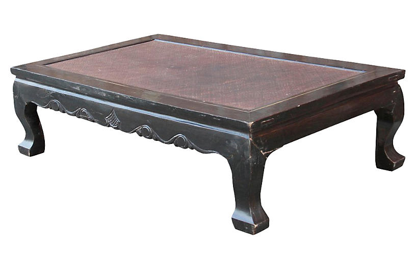 Antique Black Opium Coffee Table
