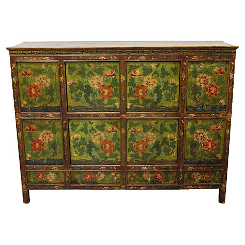 18th Century Tibetan Cabinet