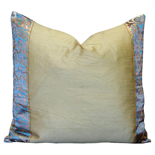 Acanthus Heritage Silk Pillow