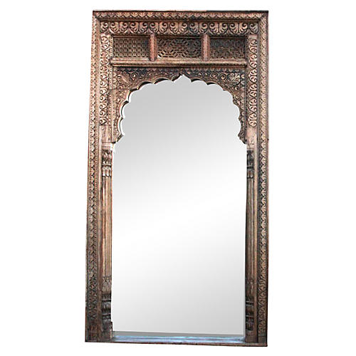 Marvelous Antique Rajwara Haveli Mirror