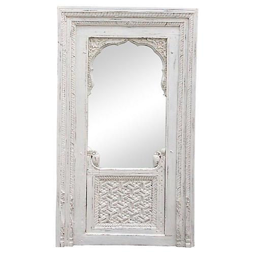 Raipur Jarokha Carved Mirror