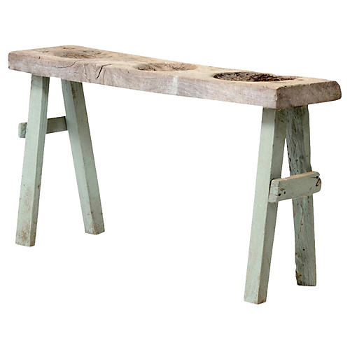Charming Antique Dough Table