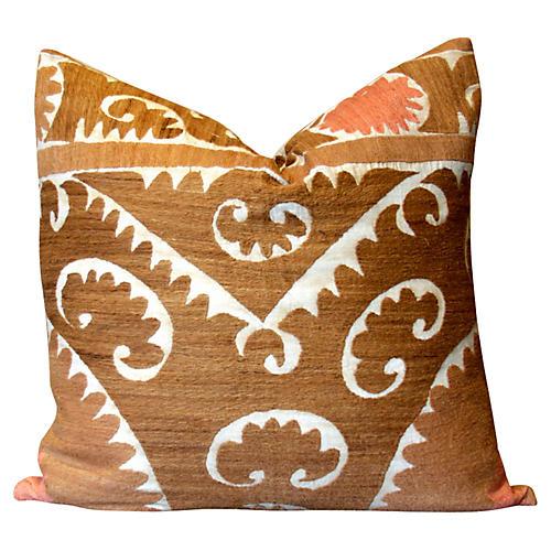 Zar Gul Suzani Pillow
