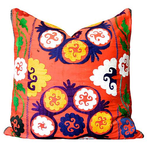 Sumandeep Suzani Pillow