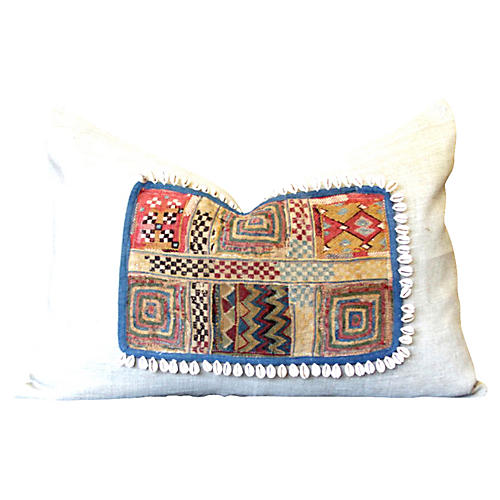 Aadiv Jumlo Embroidered Shell Pillow