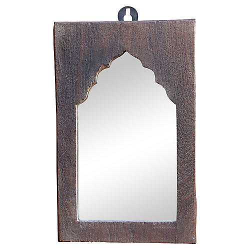 Petite Moorish Framed Mirror