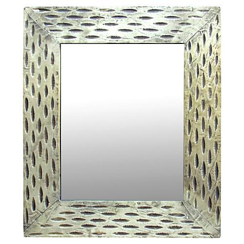 Metallic Gold Accent Mirror
