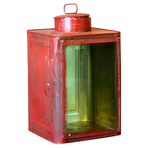 Red Candle Lantern