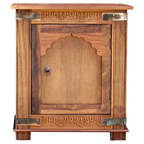 Jharoka Carved Nightstand
