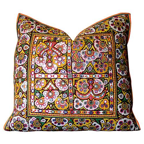 Utsav Reshmi Sutra Pillow