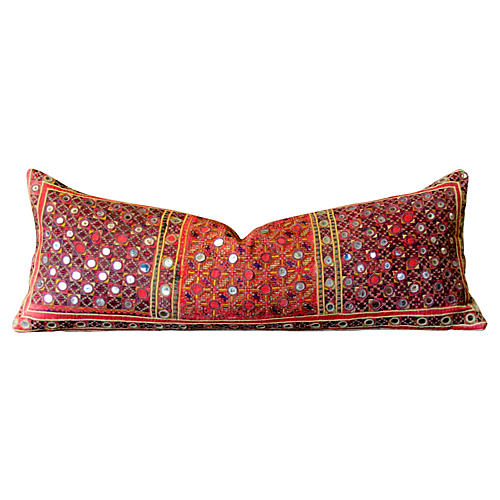 Embroidered Reshmi Sutra Pillow