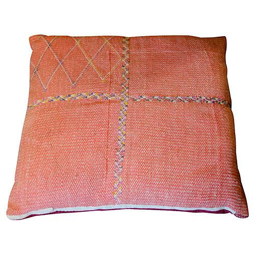 Coral Saami Floor Pillow