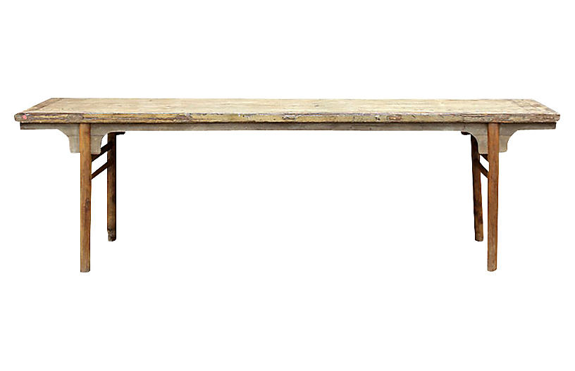 18th-Century Rustic Altar Table