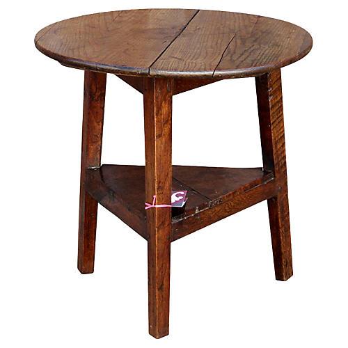 Original 18th C. English Cricket Table