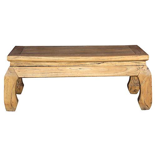 Low Elm Opium Table