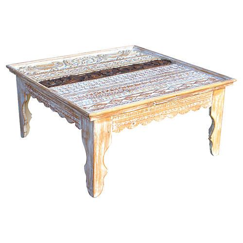 Vintage Mandawa Square Coffee Table