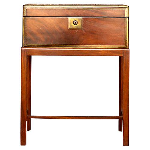 19th C. English Mahogany Lap Desk