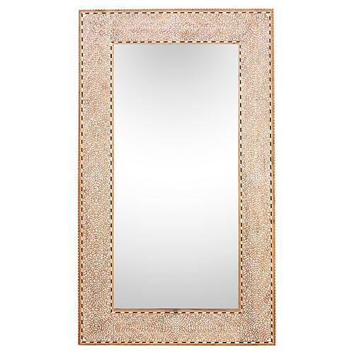 Zellige Bone Inlay Mirror