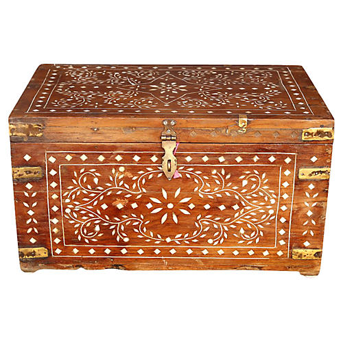 Anglo-Indian Bone Inlay Box