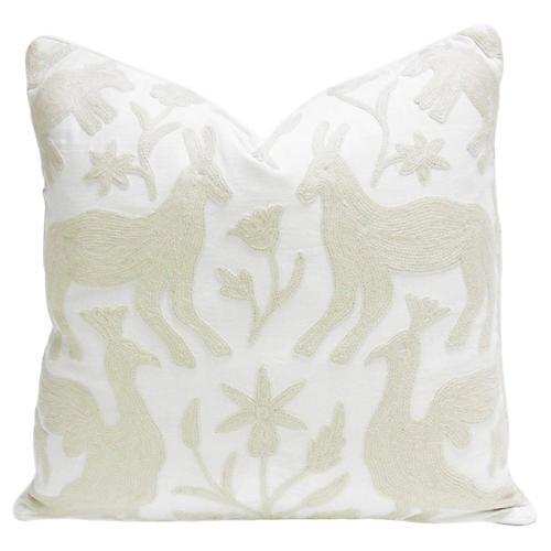 Otomi Kashmiri Native Pillow