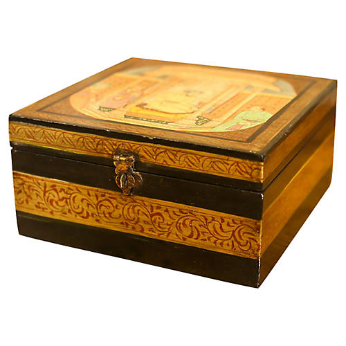 Gumbaj Hand-Painted Box